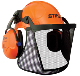 Stihl Head Eye Ear and Face Protection - Helmet Kit - Homeowner